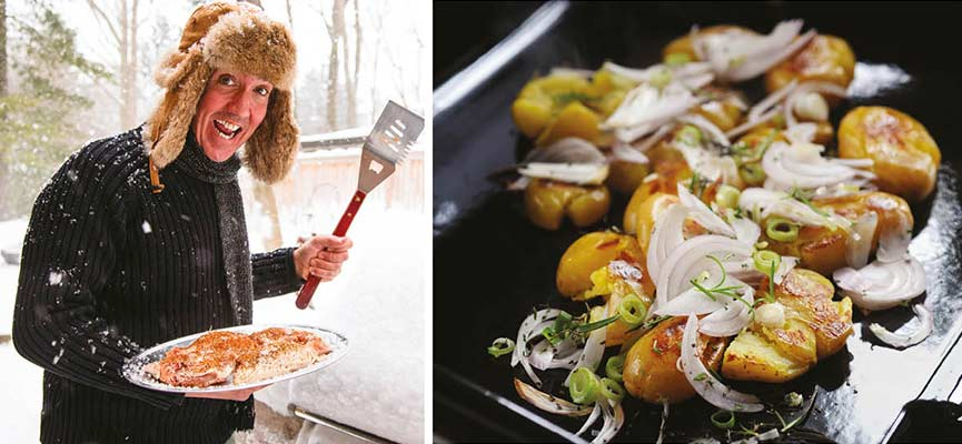 cuisine à la plancha bbq Eno