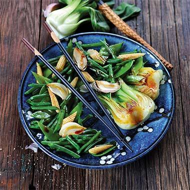 Légumes à la japonaise